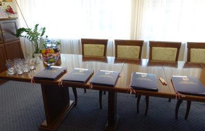 Podpisanie umowy grantowej
