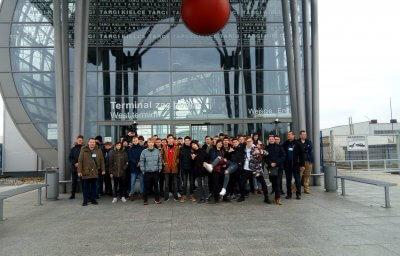 Zdjęcie wszystkich uczestników Targów ENEX